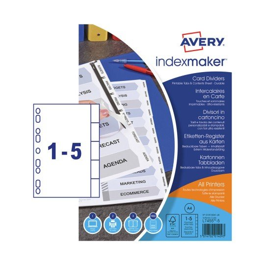 Index Maker™ Dividers 01810061