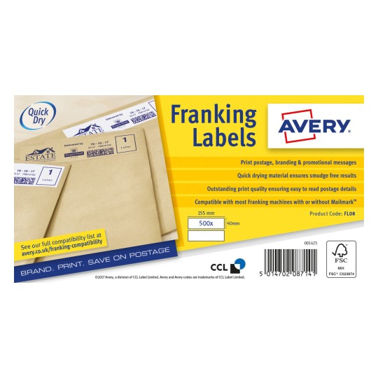 Franking Labels FL08