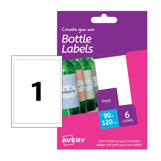 bottle labels hbl01 avery