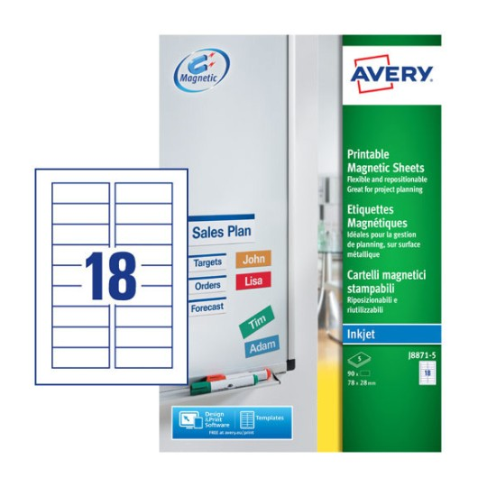 Magnet Labels   Avery