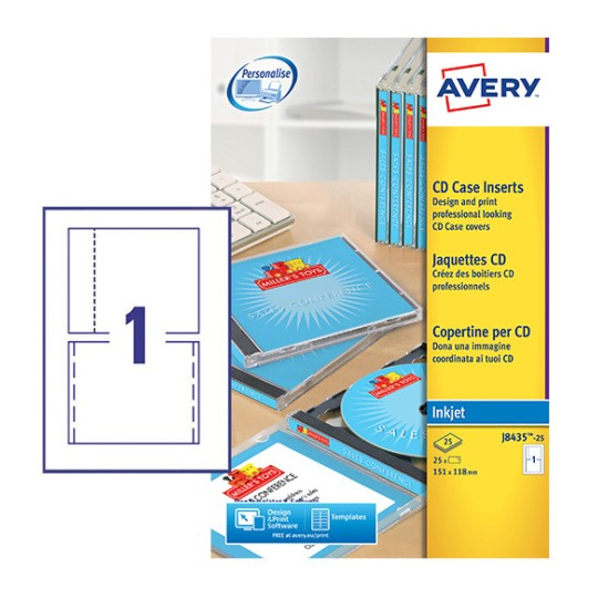 Cd labels c9660 25 avery for Avery dvd case template
