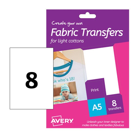 Fabric Transfers Htt01 Avery