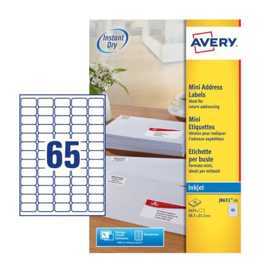 Address Labels   J8563-10   Avery