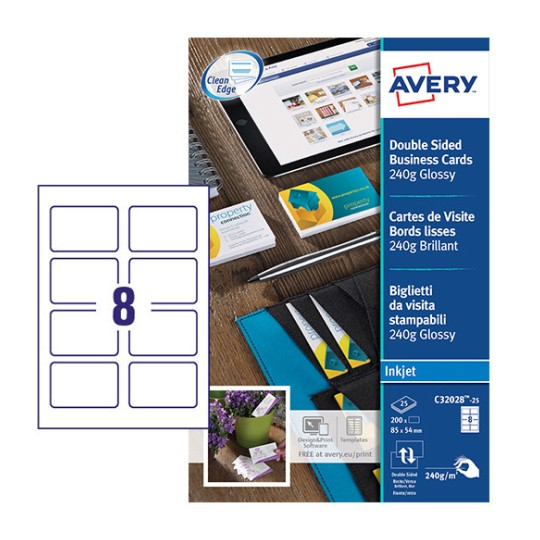 Free Avery Business Card Template