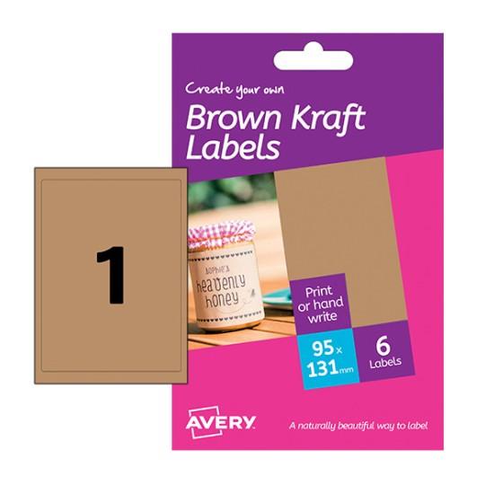 Kraft labels hbk01