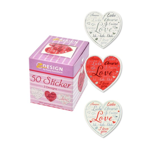Love Heart ZDesign Stickers 56813