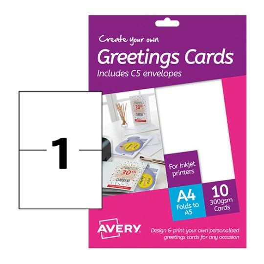 Greeting Cards MD2001 Content: 10 Cards / 10 Sheet