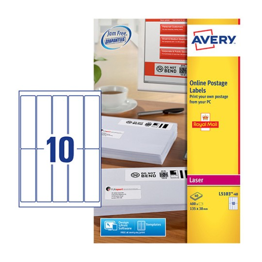 Postage Labels L5103 40 Avery