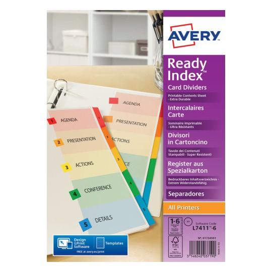 mylar dividers 05248061 avery. Black Bedroom Furniture Sets. Home Design Ideas