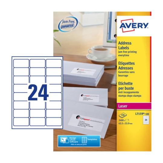 Address Labels L7159 100 Avery